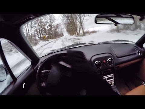 Can You Drive a Miata in the Winter? (binaural audio)