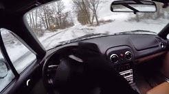 Can You Drive a Miata in the Winter? (binaural audio)