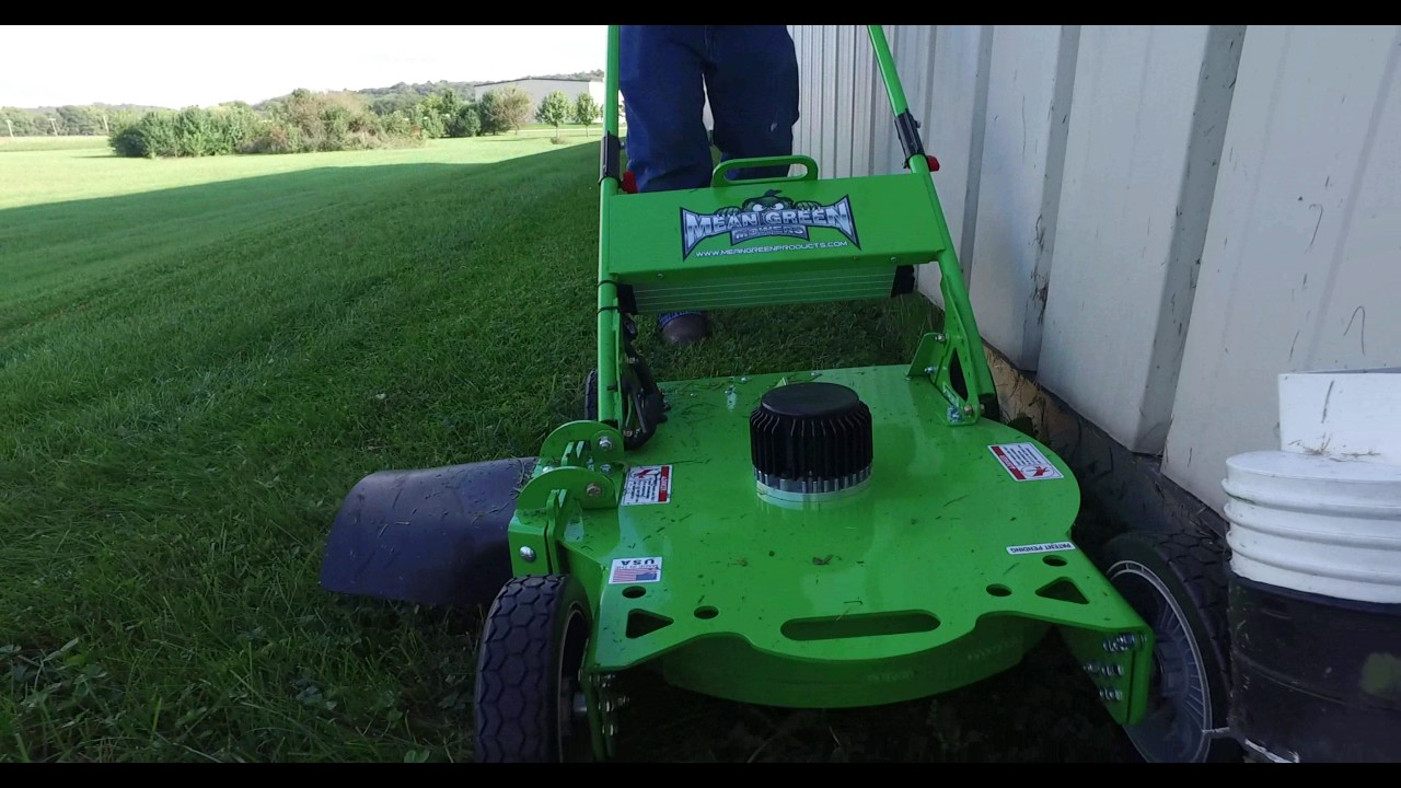 Charged EVs   The Tesla of lawn mowers
