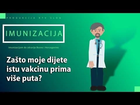 IMUNIZACIJA - Zašto moje dijete istu vakcinu prima više puta?