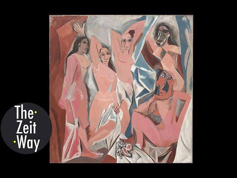 Analyzing Picasso's Masterpiece Les Demoiselles d'Avignon