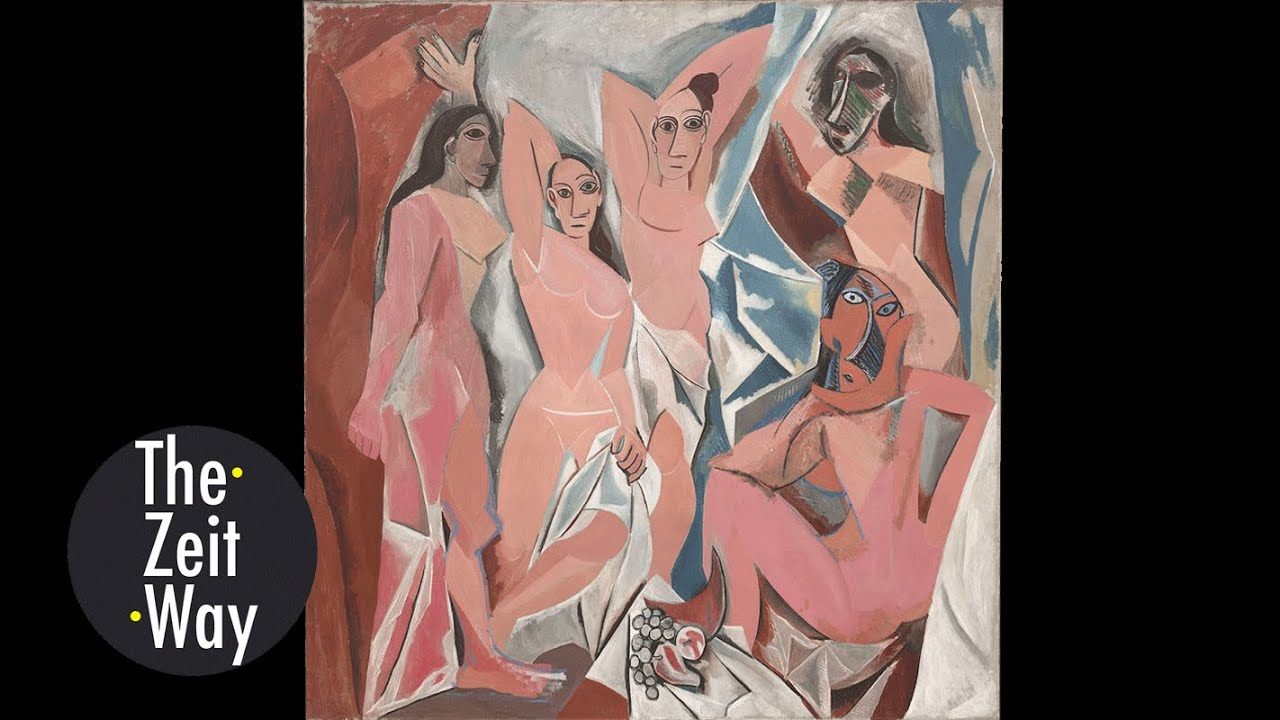 an analysis of picassos les demoiselles davignon essay Les demoiselles d - les demoiselles d avignon pablo ruiz picasso les demoiselles d avignon 1907 huile sur toile 2,4 x 2,34 m  reading into picassos les demoiselles davignon -  uses a new cubist style of artistic representation to create image mappings.