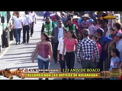 123 ANIVERSARIO DE BOACO , EL ESPUELAZO RECORRIENDO LAS HIPICAS DE NICARAGUA