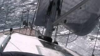 Il 13.98 di Italia Yachts in navigazione