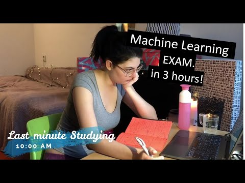A Day In The Life Of A Data Science Student | EXAM WEEK
