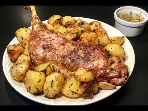 recette-idÉale-pour-le-ramadan-la-cuisse-de-dinde-au-four-accompagnÉe-de-ses-pommes-de-terre