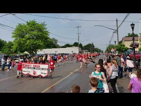 Swartz Creek High School Marching Band Hometown Day's 2019