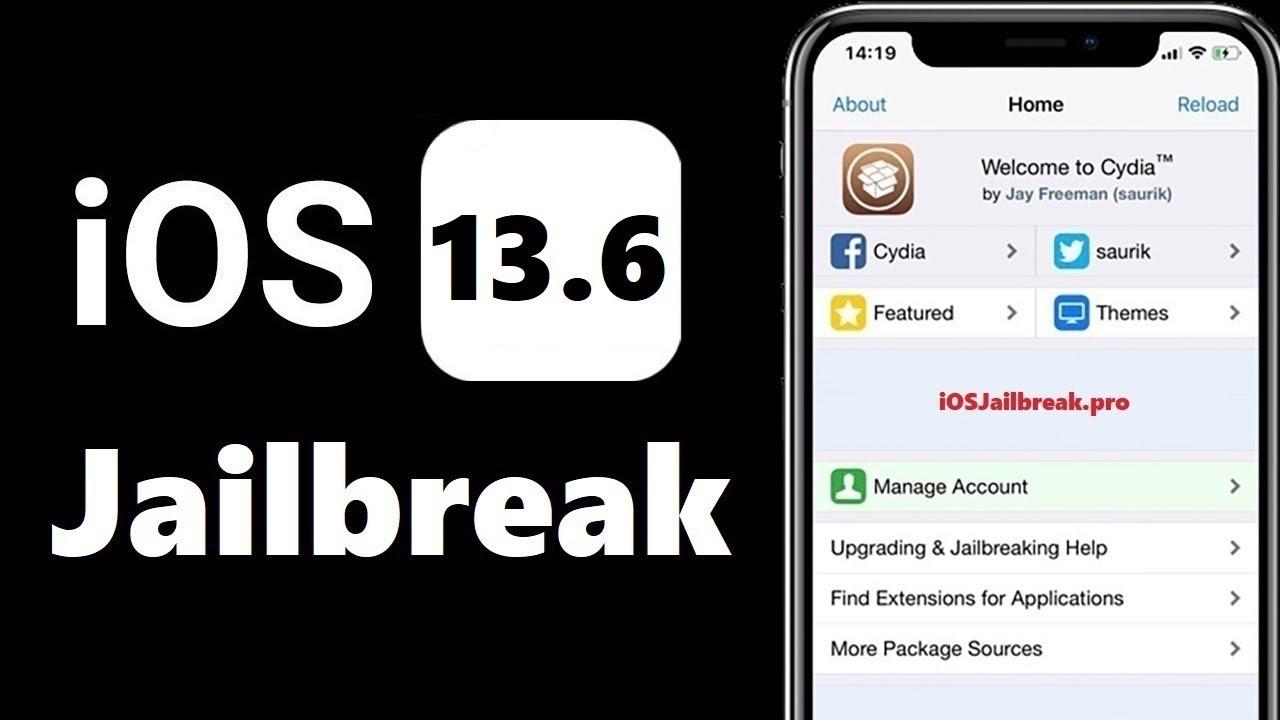 iOS 13.6 Jailbreak   How to Jailbreak iOS 13.6   Cydia iOS 13.6 ...