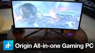 Origin All-in-one Gaming PC - Hands on at CES 2016