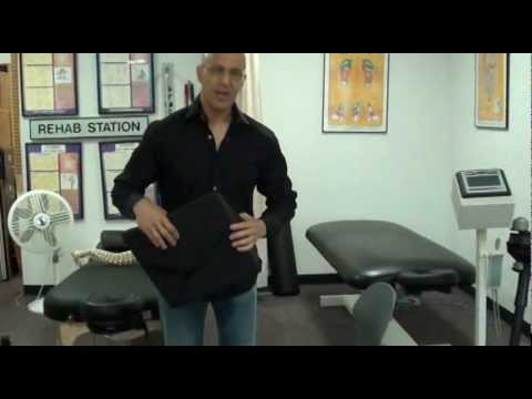 Support Pillow for Low Back Pain, Pinched Nerves and Neck Pain / Dr. Mandell