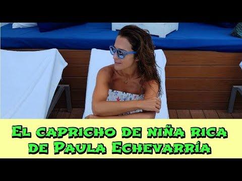 El capricho de niña rica de Paula Echevarría thumbnail