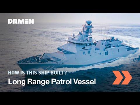 Long Range Ocean Patrol Vessel (POLA) ARM Reformador, from build to sea trials