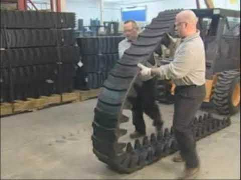 Midwest Equipment How To Install Over The Tire OTT Tracks On Skid Steer