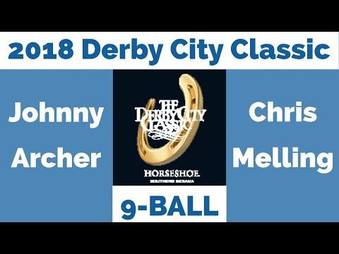 Johnny Archer vs Chris Melling - 9 Ball - 2018 Derby City Classic