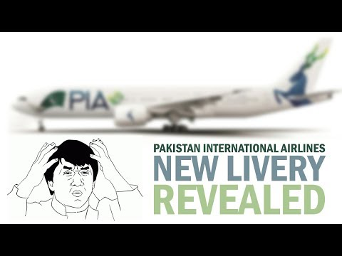NEW Pakistan International Airlines Livery REVEALED!