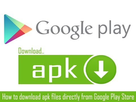 download apk files from google play store to pc/android