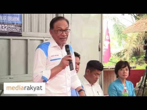 Anwar Ibrahim: Salute Tun Mahathir, Umur 93 Masih Kerja Selamatkan Negara Daripada Rasuah & Perompak