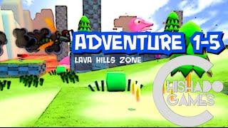 CLASSIC SONIC 3D ADVENTURE: Lava Hills Zone