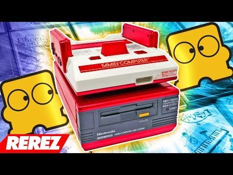 Nintendo Famicom Disk Drive Review - Rerez