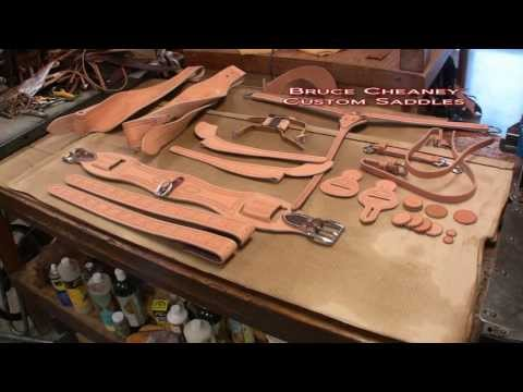 Saddle Making ✔ Time Lapse Video - Leather Working - Saddlemakers Secrets