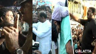 போர்க்களமான சென்னை அண்ணாசாலை | Cauvery Protest | Chennai | Seeman | Vairamuthu | Karunas | IPL