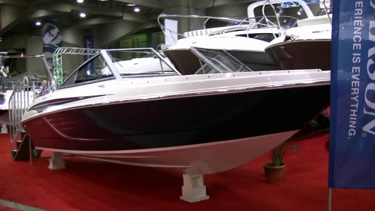 2012 larson lx 2150 motorboat at 2012 montreal boat show - Salon du bateau cannes ...