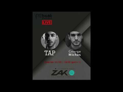 REboot Sessions Live - TAP & George Michas @ ZAK Radio (Lodz, Poland) | 23.03.17