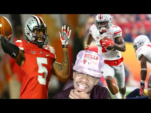 WAIT IS HE A QB OR A WR!?! BRAXTON MILLER 2015 HIGHLIGHTS REACTION!