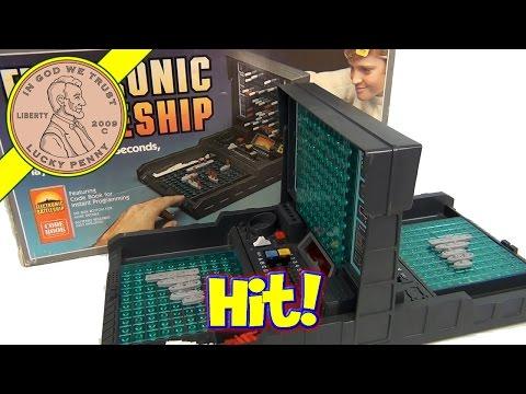 Electronic Battleship, 1982 Milton Bradley Game