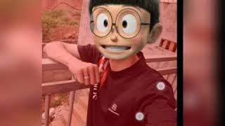 Cách ghép ảnh doremon nobita Simple nobita photo collage