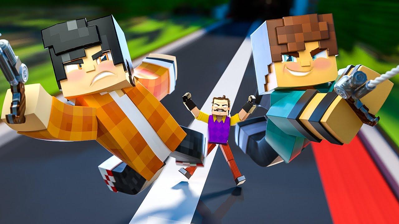 Minecraft: Hello Neighbor - CALMA AMIGO! O RESGATE ESTÁ A CAMINHO! #03