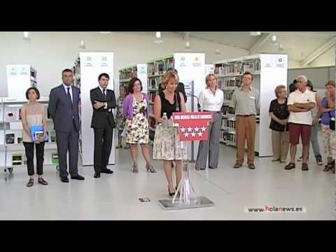 Inauguración Biblioteca Pública Luis Rosales en Madrid