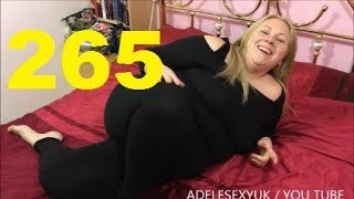 ADELESEXYUK TRYING ON A BLACK OFF THE SHOULDER TOP