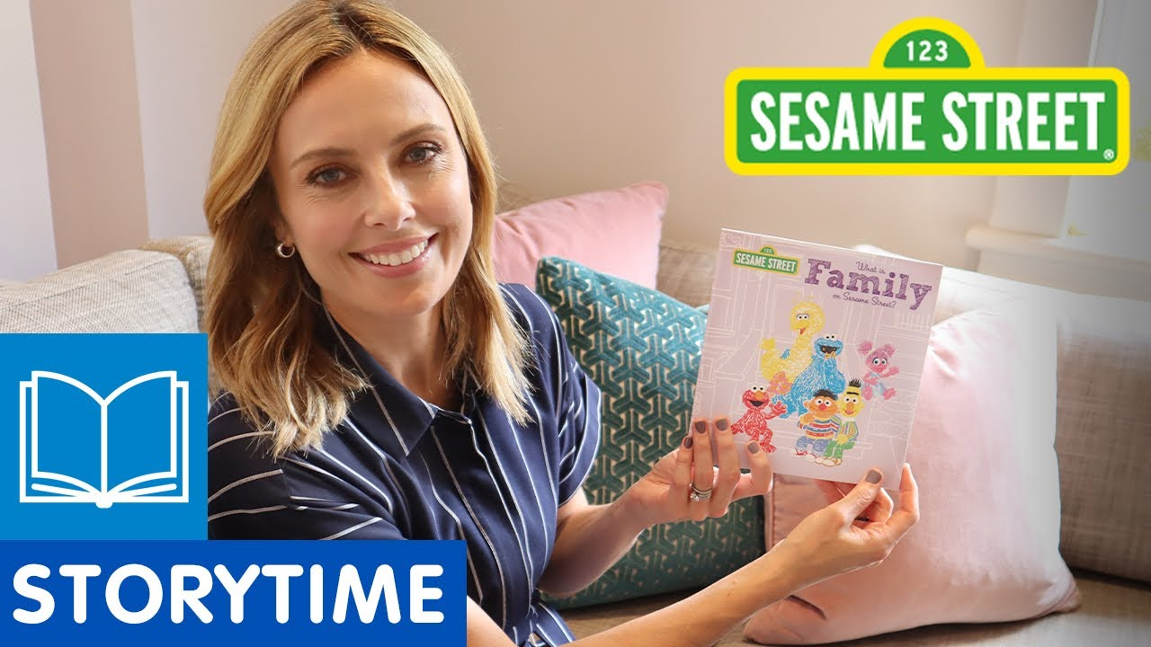 Sesame Street: What is Family on Sesame Street? | Story Time with Ally Langdon