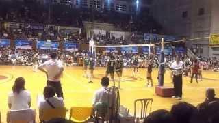 141028 unigames volleyball finals w dlsu nu set 4 6