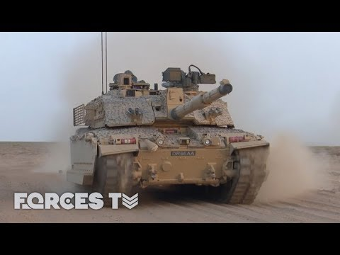 Challenging The Challenger 2: The British Army On Exercise In Oman | Forces TV