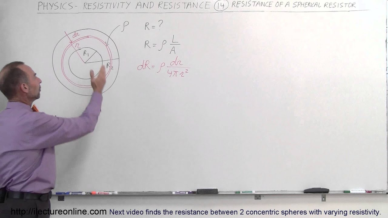 Physics - E&M: Resistivity and Resistance (14 of 32) Resistance ...