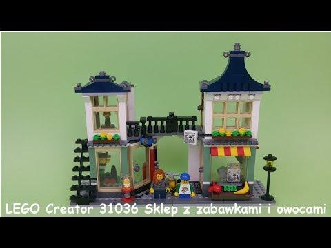 Lego Creator 31036 Sklep Z Zabawkami I Owocami Youtube