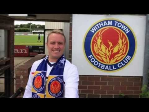 Crazy No.1 Witham Town FC Fan!