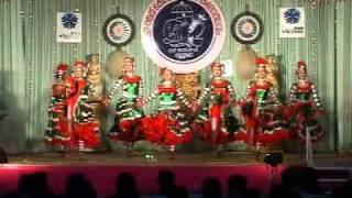 kerala state youth festivel 2012-HSS group dance first