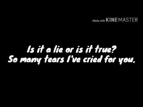 Million Tears Lyric(Groove Coverage)