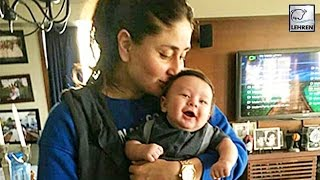Repeat youtube video Kareena Kapoor's OFFICIAL Picture With Baby Taimur Ali Khan | LehrenTV