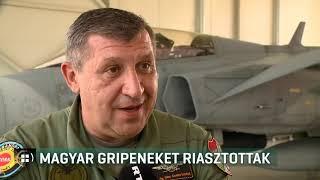 Magyar Gripeneket riasztottak 19-08-14