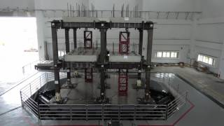 Tri-axial earthquake simulator @ NCREE Tainan