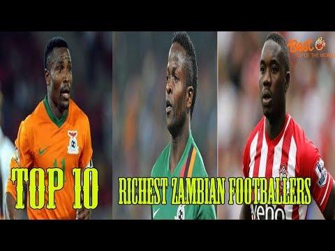 Top 10 Richest Zambian Footballers