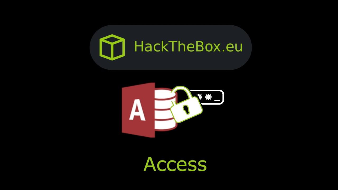 HackTheBox - Access