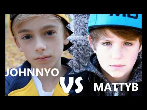 Johnny Orlando vs Matty b ( Rap battle )