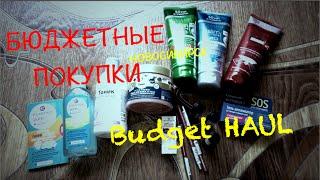 Budget HAUL.Бюджетные покупки:ESSENCE, EVELINE | PinkyBrunette