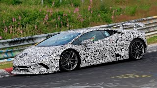 2018 Lamborghini Huracan Superleggera spy video