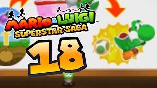 mario luigi superstar saga 3ds 18 la quête des oeufs de yoshi